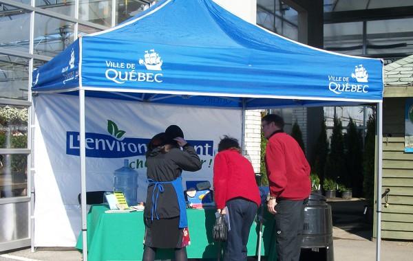 Écolo-sac pour la Ville de Québec