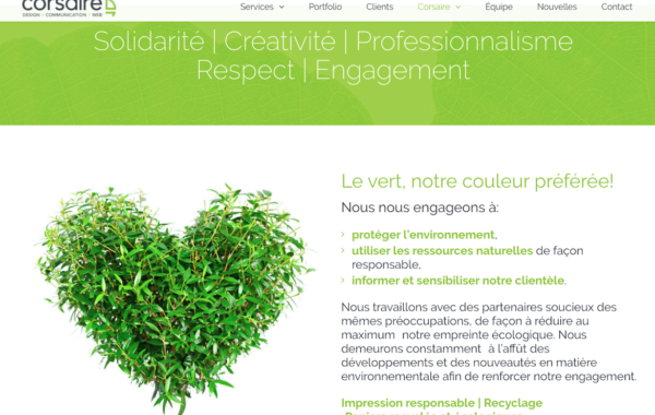 Corsaire – Design | Communication | WEB