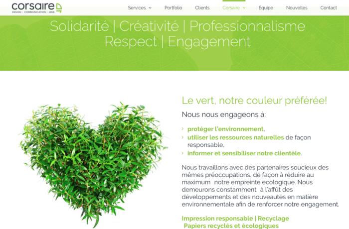 Corsaire – Design | Communication | WEB